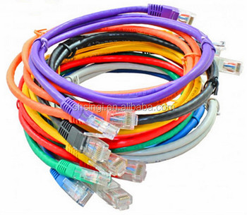 1 meter utp cat.5e patch cable