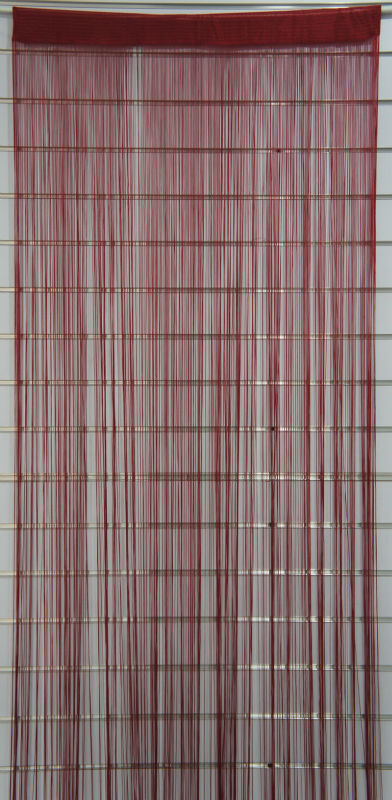 Red String Door Curtain for Home Decor