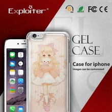 Epoxy mobile phone cover shell, 3d crystal handphone cover
