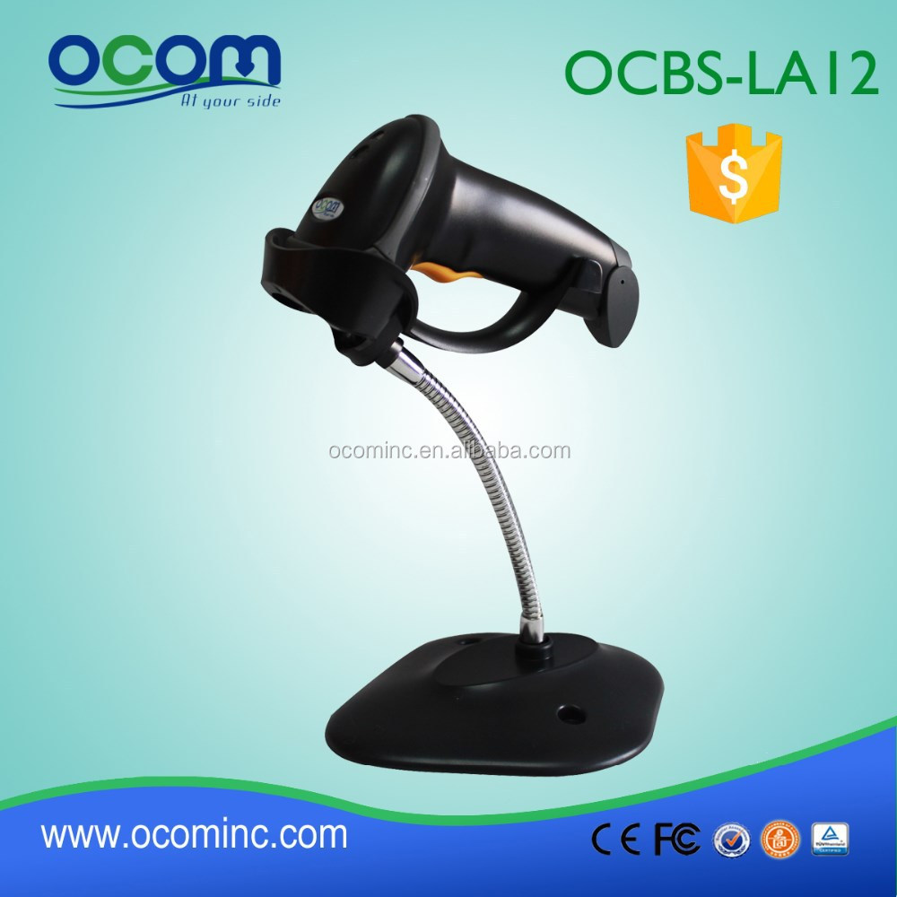OCBS-LA12-<strong>R</strong>-W rs232 black future-proofing tablet pc barcode scanner