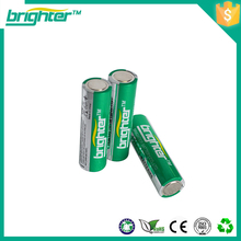 AA Alkaline Battery with flat top 1.5v lr6