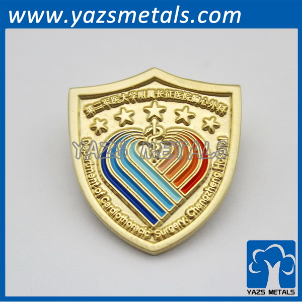 department of cardiothoracic surgery changzheng hospital lapel pins