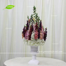 GNW New fashion silk artificial wedding flower ball for table decoration