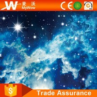 [SW-3240] Outer Space Mural Abstract Photo Wall Paper for Modern Home