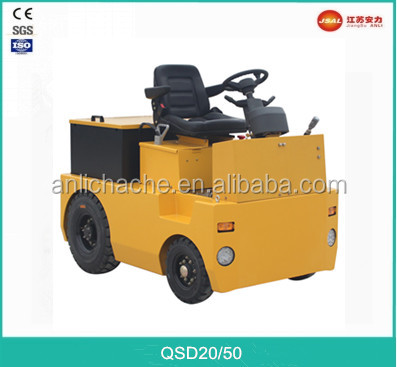 3.0 Ton 4-Wheel Electric Tow Tractor with Cheap Price