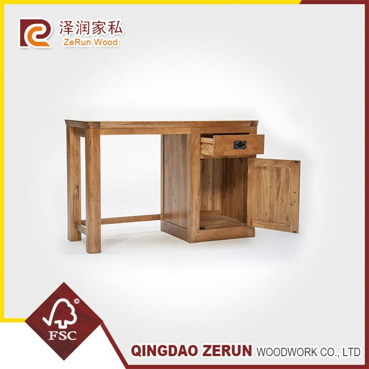 New Product High-End Full Leather Solid Wood Dressing Table