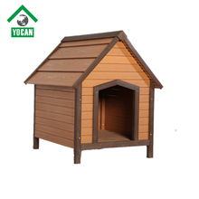 Fast supplier big wooden dog house outdoor