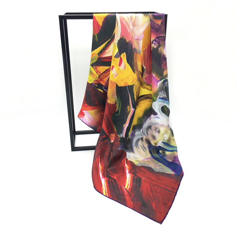 Factory Direct Own Design Custom Printed Bulk Scarves