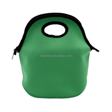 Customized Wholesale Waterproof School Work Office Picnic Travel Tote Boxes Insulated Neoprene Lunch Cooler Bag With Zipper