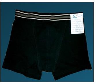 Men's Black Tight Comfortable Underwear