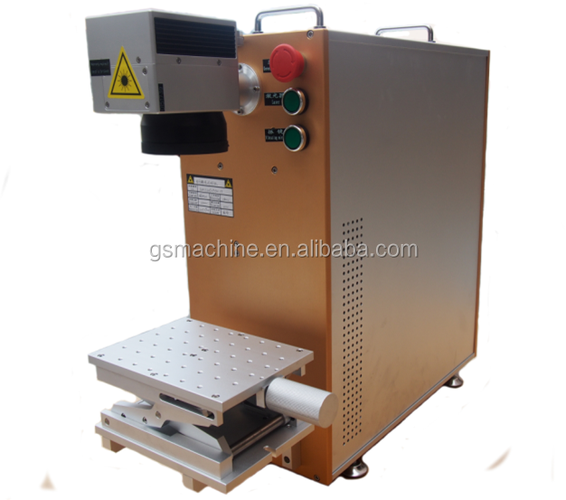 Easy carry 20W mini optical fiber laser marking machine price for sale