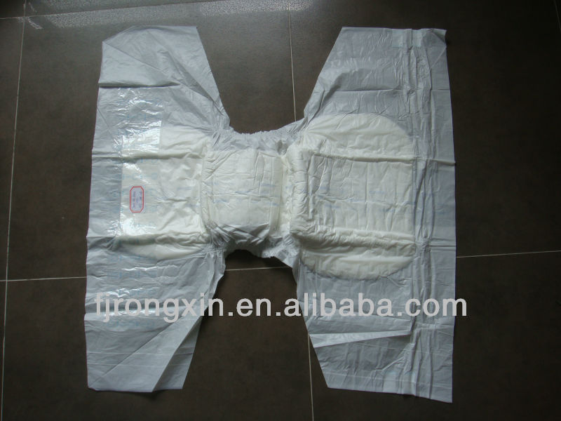 Disposable A grade economic one absorbent adult baby diaper