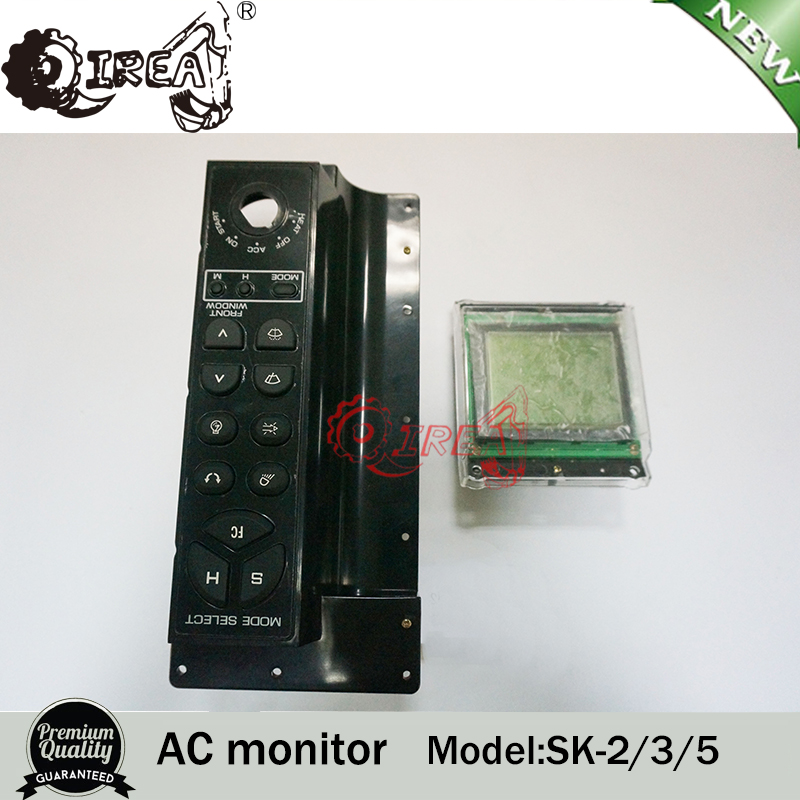 SK200-2 SK200-3 SK200-5 excavator electronic parts monitor panel Monitor LCD
