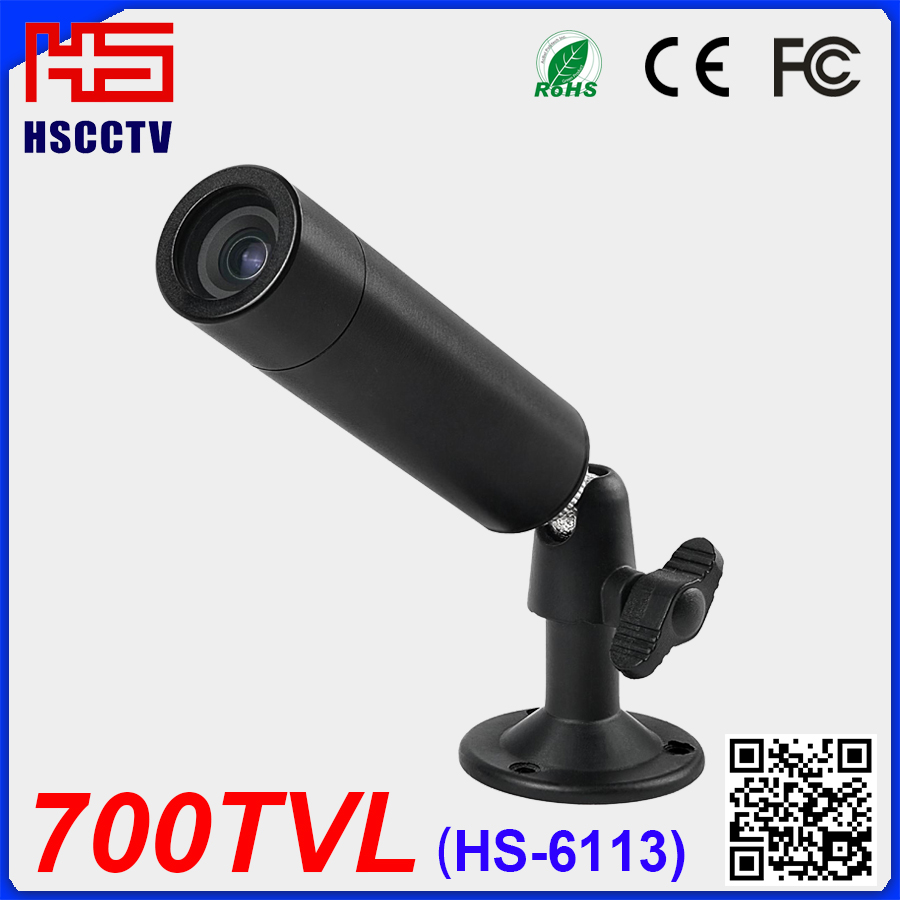 "1/3"" Sony CCD 700TVL Security CCTV Surveillance Mini Bullet Camera"
