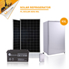 93L DC12V Low price solar kitchen appliance solar power mini fridge