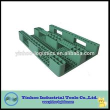 Durable and Recyclable Plastic Euro Pallet with Green Color