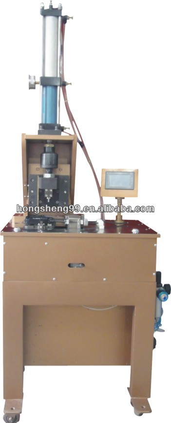 Junction box automatic screw nut crimping machine