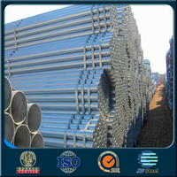 GB/T 8163-1999 3/4'' 1'' 1.1/2''hs code galvanized steel pipe class b price per meter for building construction material