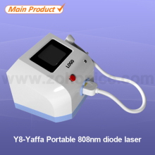 Y8 Advanced 808nm Diode laser permanent hair removal beauty equipment