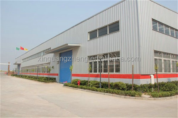 prefabricated steel structure frame metal warehouse /workshop/metal shed