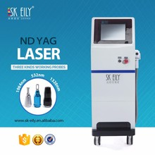 Q-switched nd yag laser beauty equipment for pigment removal