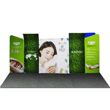 Wholesale portable tension fabric banner exhibition booth trade show stand solution