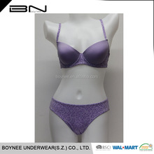 Professional Underwear Manufacture OEM Accept Girl's Underwear Hot Sexy Lady Bra And Bikini