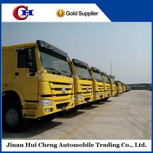 sinotruk Howo 6x4 Mine used Dump Trucks Tipping Truck 336HP HW76 cab For Sale