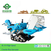High quality 4L-0.6 Paddy harvester / Rice harvester