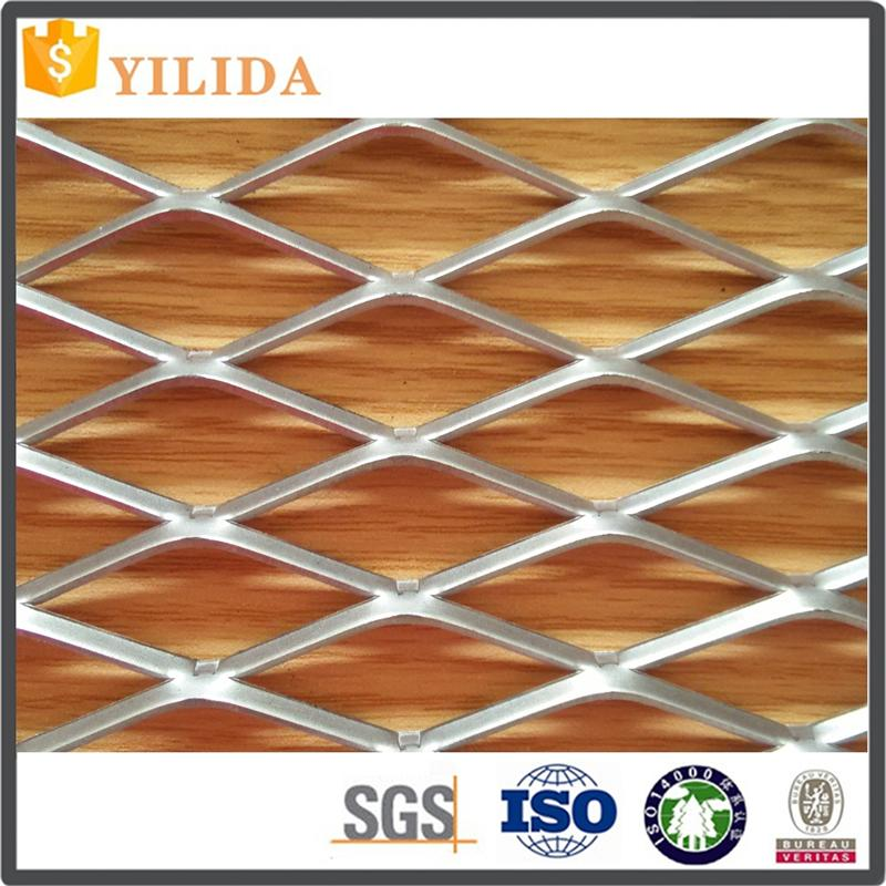 Construction sites black steel expanded metal lath exporter with low price