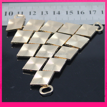 8.2*7.3cm fashion lady footwear accessories metal shoe chain decoration