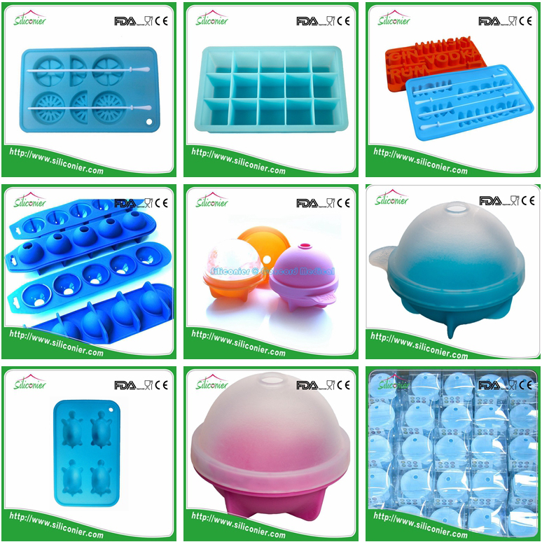 Alibaba express silicone round ice ball molds