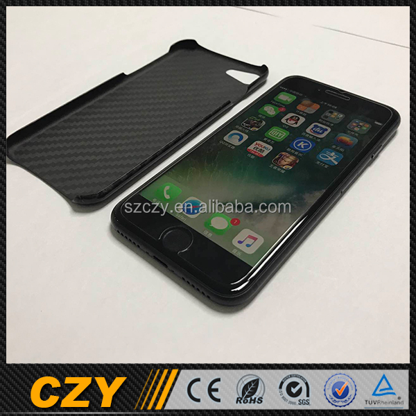 Custom Real Carbon Fiber Phone Case Cover for Iphone 7 for Iphone 7 Plus