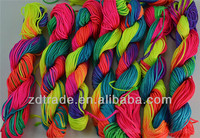 DIY handmade beaded jewelry mix color Korea nylon thread