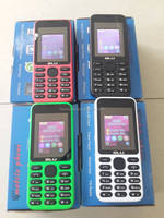 Customer logo hot selling latest china mobile phone feature phone shenzhen mobile phone manufacturers with many color