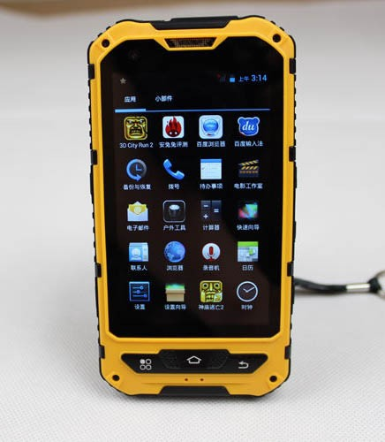 Hot selling rugged smartphone A8 4 inch IPS Rugged mobile phone with 3G GPS
