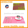 Silicone protective hotel and restaurant table pad
