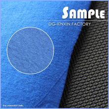 Blue 6mm embossed Neoprene with cotton jersey fabric for gloves