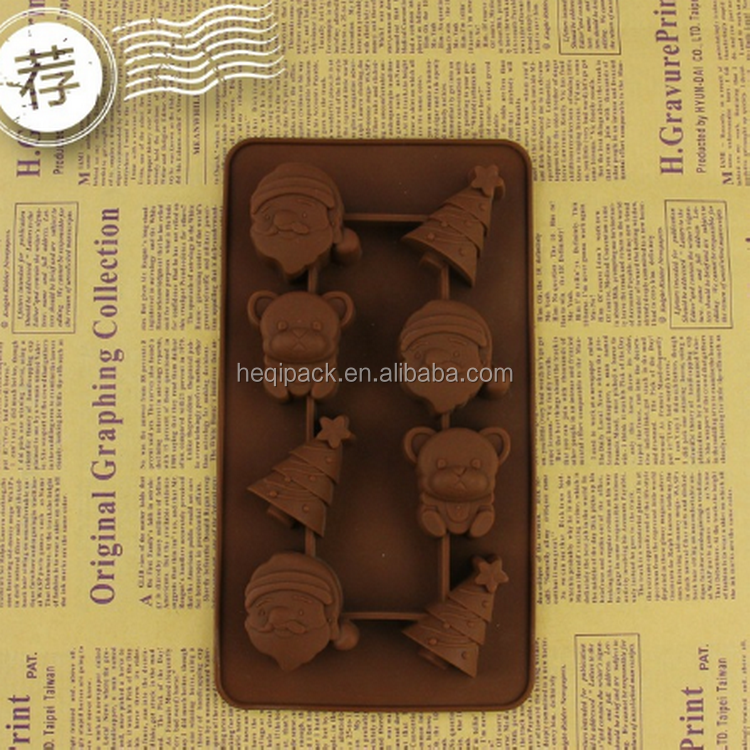 Good quality Bear shape silicone mold for baking wholesales