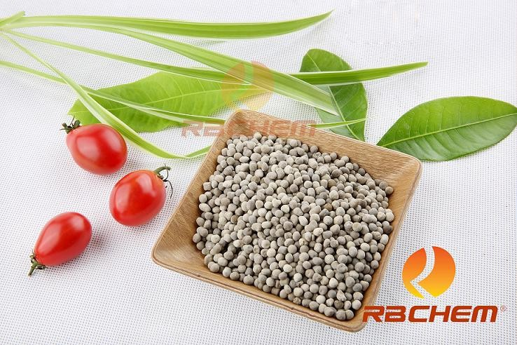 Granule fertilizer containing phosphorus & potassium in agriculture
