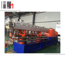 Waste Plastic Recycling Pelletizing Double-screw Extruder Machine