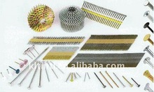 Industry and General Use United Coil Nails with screw shank/smooth shank