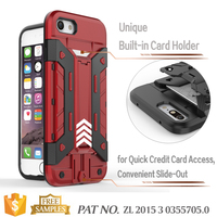 Kickstand card holder case guangzhou mobile accessories market