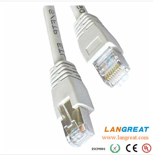 CAT6 STP PATCH CORD With Plain Molded Boot
