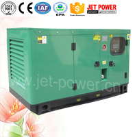 prime power 12 kw 15 kva 3 phase generator with chinese weifang engine