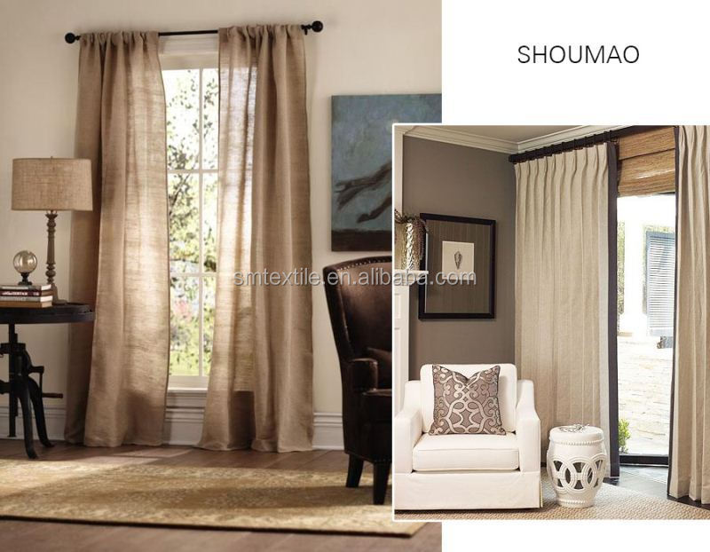 hot sale functional luxurious curtains with valance