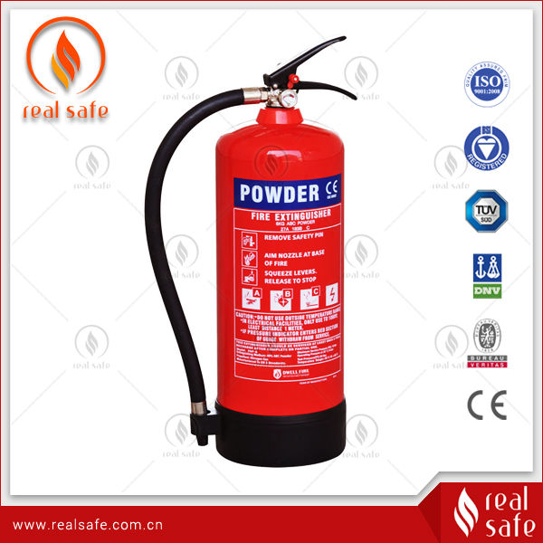 BSI 6Kg Dry Chemical Powder Fire Extinguisher