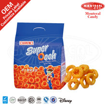 Healthy super cheese ring snack
