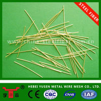 Micro Steel Fiber/HIGH ULTA tensile strength steel fiber/copper coated steel fiber
