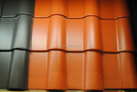 Hot sell Spanish ceremic glazed roof tiles